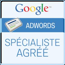 Overside, certifié Google Adwords